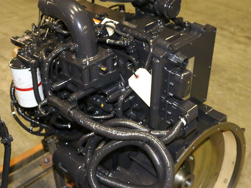 Free Shipping  New Cummins Qsb3 3 Liter 110 Hp Diesel Engine