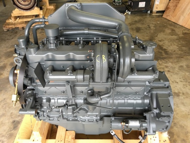 DB58T DAEWOO DOOSAN DIESEL ENGINE FOR S130LC-V