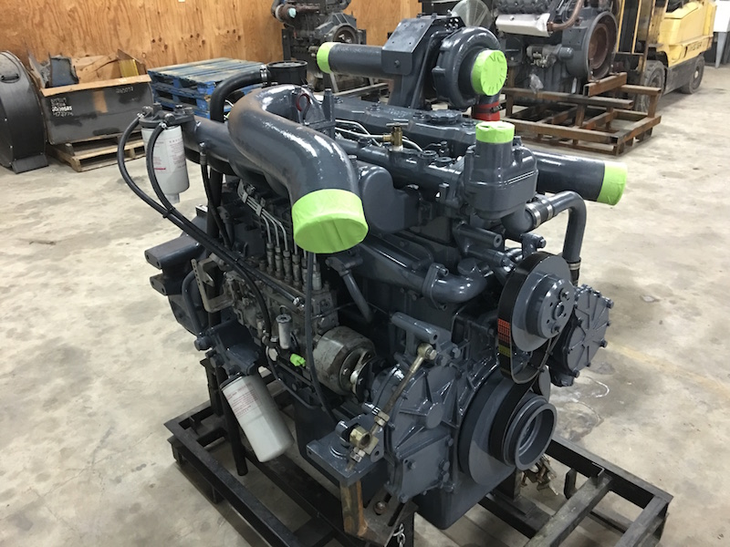 REBUILT DE12TIS DAEWOO DOOSAN DIESEL ENGINE FOR CONSTRUCTION