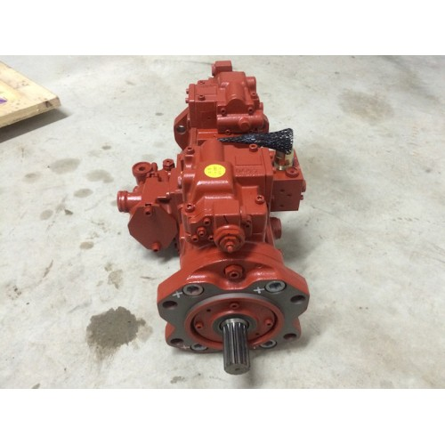 New Doosan Excavator S255LCV Main Hydraulic Pump Kawasaki K3V112DT Assembly Part Number 401-00347