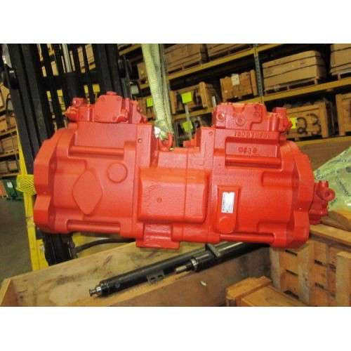 New Daewoo Excavator S130LC-V Main Hydraulic Pump Kawasaki K3V63DT Assembly Part Number 2401-9236B