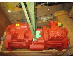 New Daewoo Excavator S130LC-III Main Hydraulic Pump Kawasaki K3V63DT Assembly Part Number 2401-9186B