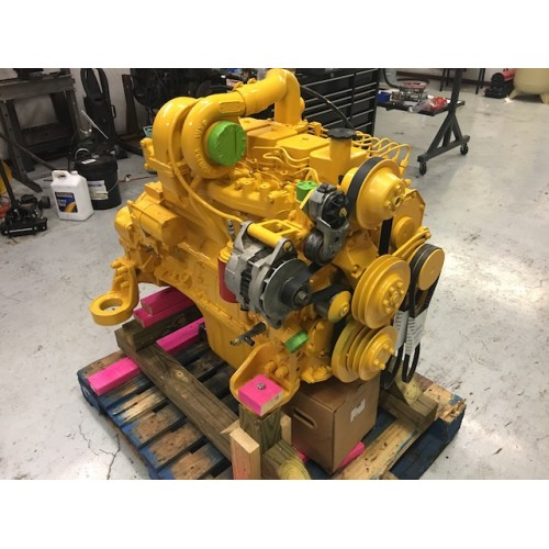 REBUILT KOMATSU S6D102E DIESEL ENGINE FOR PC200-5, PC200-6, PC200-7 EXCAVATORS