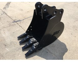 "TAG 18"" BUCKET FOR TAKEUCHI TB135 MAY ALSO FIT CASE, CAT, DAEWOO, HITACHI, VOLVO MINI EXCAVATORS"