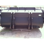 JRB 4.0 Cubic Yard Bucket for JCB, Cat, Doosan, Deere, Komatsu High Capacity