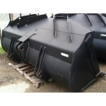 JRB 3.4 Cubic Yard Wheel Loader Bucket for JCB, Cat, Doosan, Deere High Capacity