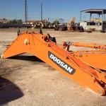 DOOSAN DX225LC COMPLETE FRONT ASSEMBLY